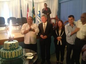 Festa democrática nos 80 anos do Sindicato dos Metalúrgicos do Amazonas.