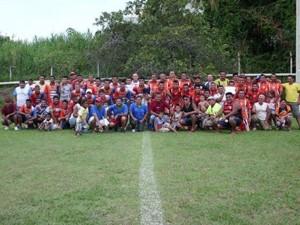 Equipes finalistas e a coordenação do campeonato.