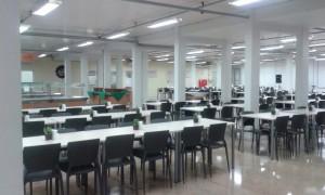 Refeitório Digibras e Digiboard. Foto: Arquivo Sindmetal