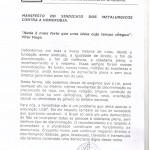 MANIFESTO SINDICATO CONTRA HOMOFOBIA