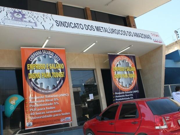 História Sindicato dos Metalúrgicos do Amazonas
