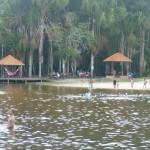 Lago de água corrente
