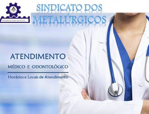 Serviços médicos, odontológicos e exames são oferecidos aos associados do Sindmetal e seus dependentes