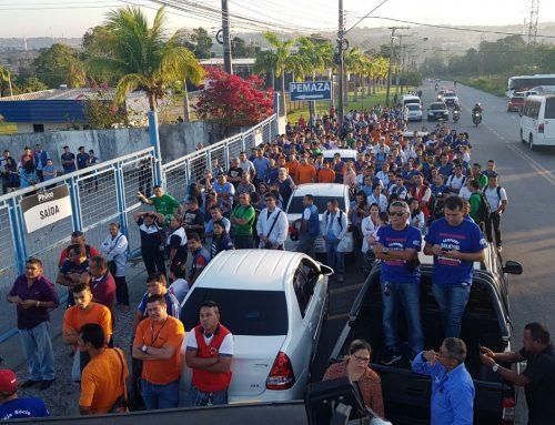 Campanha salarial de 2017 tem mobilizado trabalhadores no Polo Industrial de Manaus