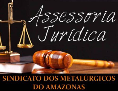 Atendimento dos Advogados no Sindicato dos Metalúrgicos do Amazonas