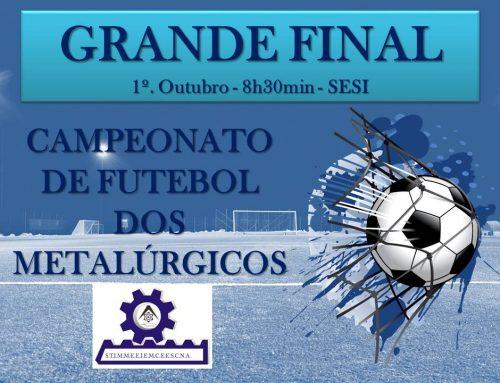 Final do Campeonato dos Metalúrgicos acontece neste domingo, 1º de Outubro