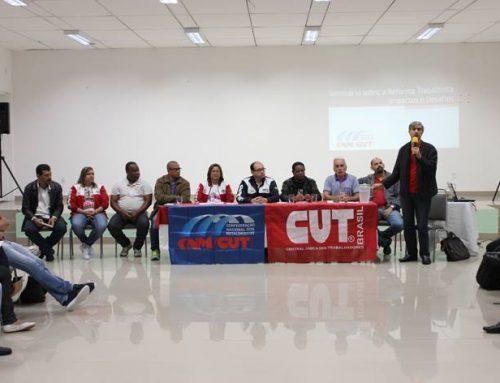Metalúrgicos participam de Seminário promovido pela CNM/CUT