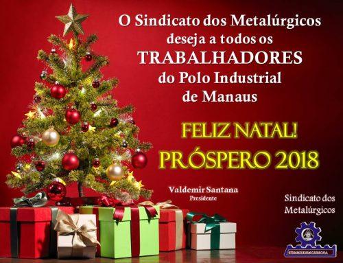 Feliz Natal e Próspero 2018!