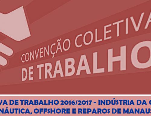 CONVENÇÃO COLETIVA DE TRABALHO 2016/2017 – INDÚSTRIA DA CONSTRUÇÃO NAVAL, NÁUTICA, OFFSHORE E REPAROS DE MANAUS