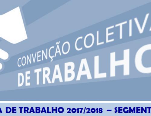 CONVENÇÃO COLETIVA DE TRABALHO 2017/2018 – SEGMENTO ELETROELETRÔNICO