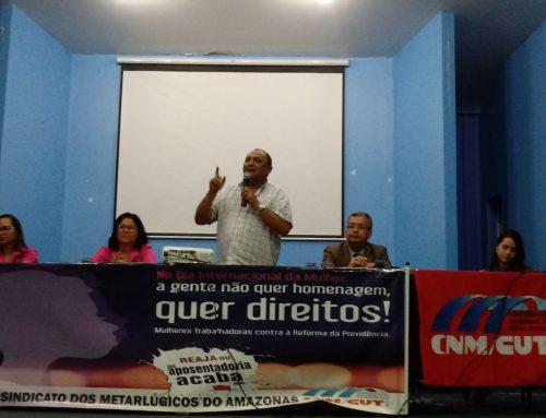 Dia Internacional da Mulher celebrado no Sindicato dos Metalúrgicos do Amazonas