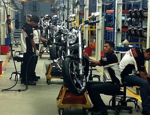 Produção de motos cresce 37,3% em abril