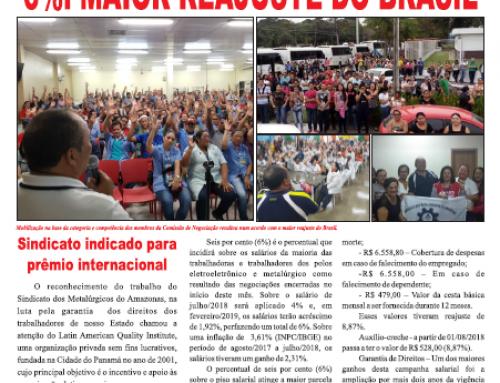 Lei a Edição de Agosto do Boletim Linha de Montagem