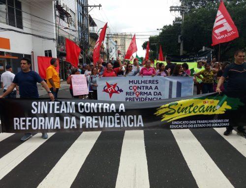 Protesto contra a Reforma da Previdência