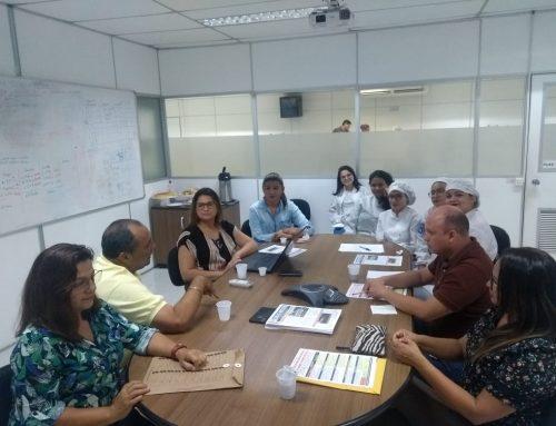 Reunião realizada na empresa VISTEON AMAZONAS LTDA.