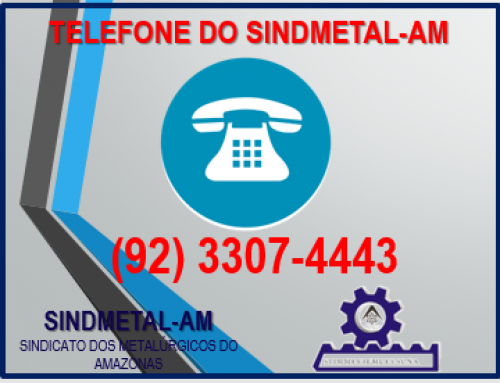 TELEFONE DO SINDMETAL-AM