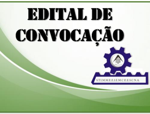 EDITAL DE CONVOCAÇÃO – ASSEMBLEIA GERAL EXTRAORDINÁRIA – COMETAIS INDUSTRIA E COMERCIO DE METAIS LTDA– DIA 20 DE FEVEREIRO DE 2020.