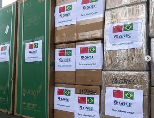 Empresa Gree do Brasil faz doação a hospital em Manaus