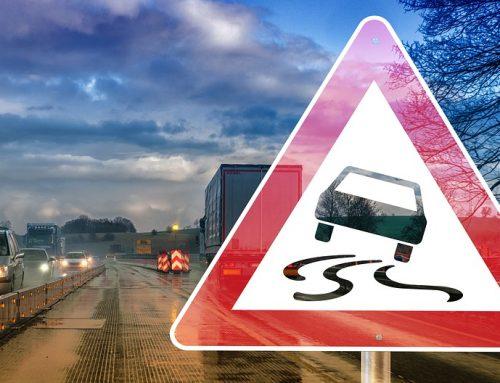 Risco de acidente: veículo desgovernado na pista