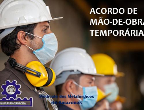 Acordo firmado com empresas de Mão-de-Obra Temporária