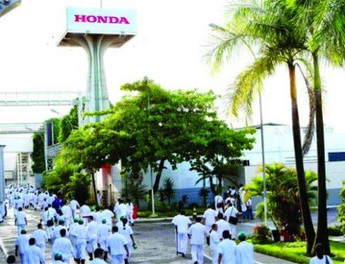 Moto Honda manda seis mil trabalhadores passar 10 dias em casa