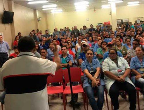 Metalúrgicos esperam por autoridades para garantir saúde dos trabalhadores do PIM