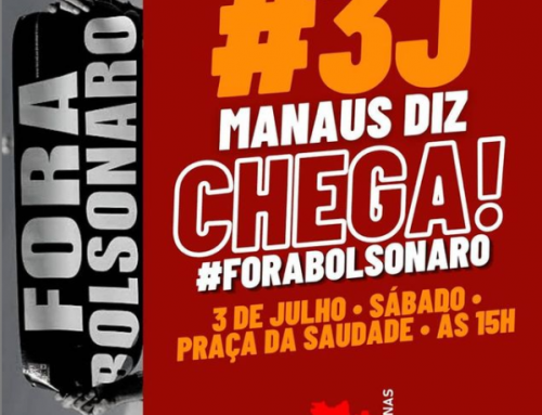 3 de julho, Fora Bolsonaro