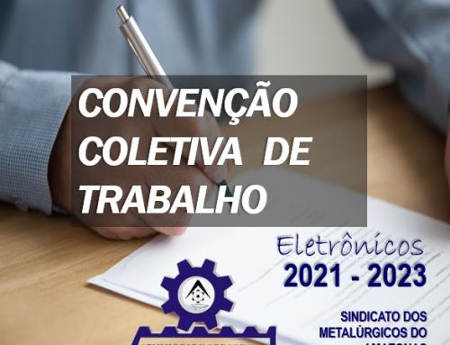 Convenção Coletiva de Trabalho (CCT) – 2021-2023 ELETRÔNICOS