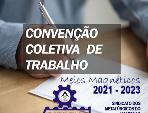Convenção Coletiva de Trabalho (CCT) – 2021-2023 MEIOS MAGNÉTICOS
