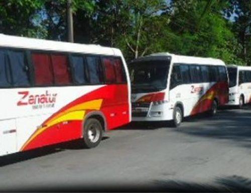 Transporte especial de trabalhadores para rotas do distrito industrial